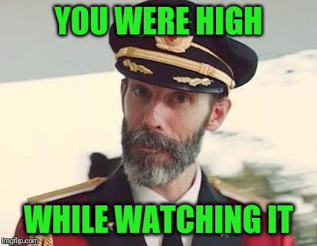 Captain Obvious | YOU WERE HIGH WHILE WATCHING IT | image tagged in captain obvious | made w/ Imgflip meme maker