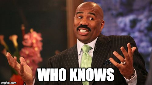 Steve Harvey Meme | WHO KNOWS | image tagged in memes,steve harvey | made w/ Imgflip meme maker