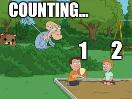 1 2 COUNTING… | made w/ Imgflip meme maker