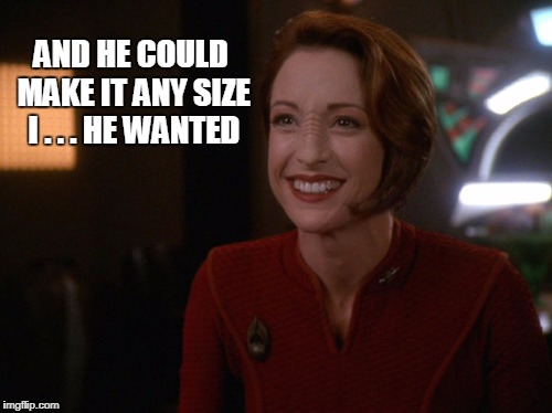 AND HE COULD MAKE IT ANY SIZE I . . . HE WANTED | made w/ Imgflip meme maker