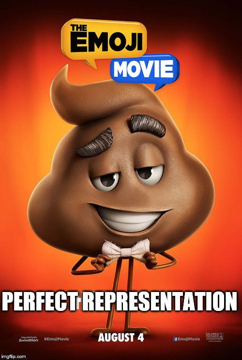 1tdv1r the emoji movie poop poster imgflip