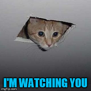 I'M WATCHING YOU | made w/ Imgflip meme maker
