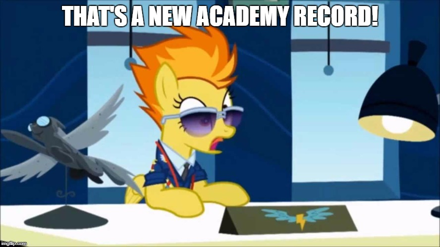 THAT'S A NEW ACADEMY RECORD! | made w/ Imgflip meme maker