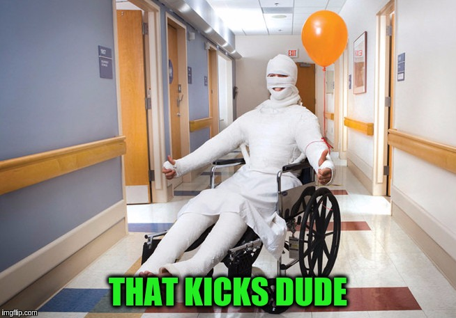 THAT KICKS DUDE | made w/ Imgflip meme maker