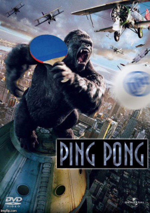 PING PONG | image tagged in movie poster,movie | made w/ Imgflip meme maker