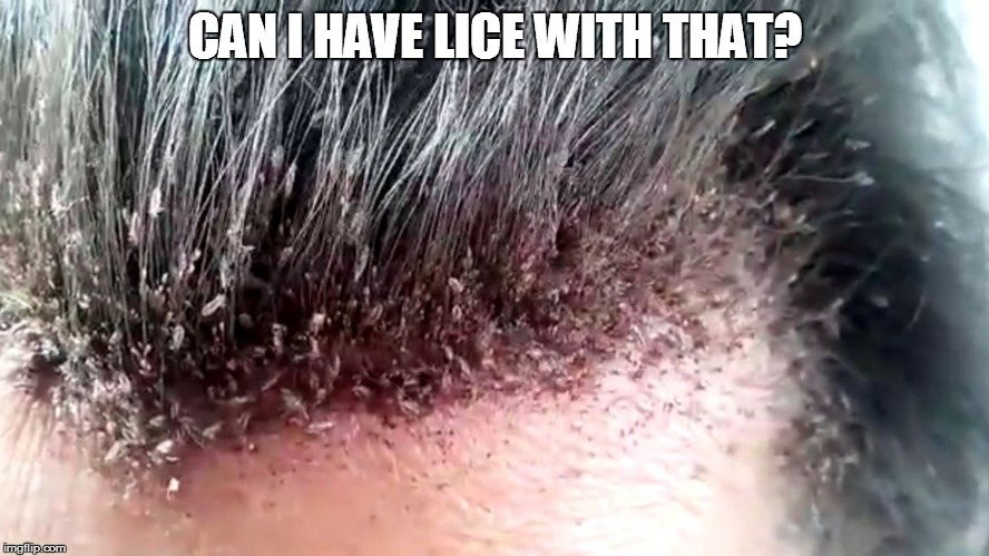 CAN I HAVE LICE WITH THAT? | made w/ Imgflip meme maker