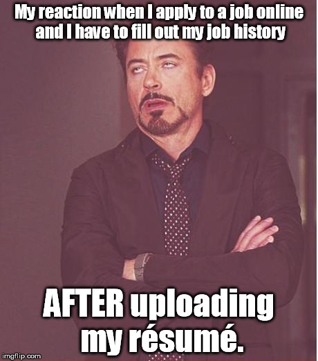 "Let's go back to the newspaper ""help wanted"" section! 