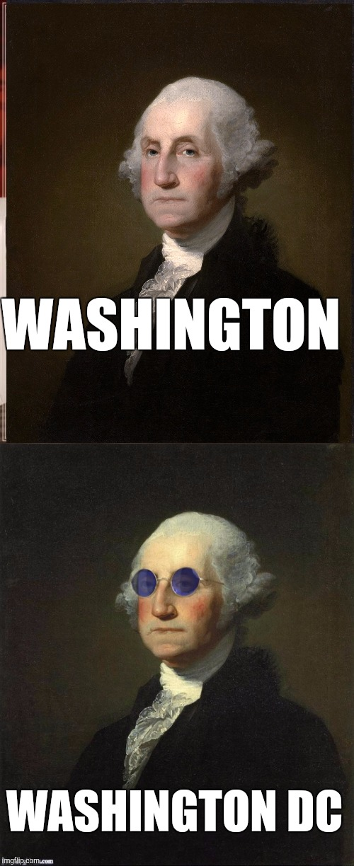 WASHINGTON WASHINGTON DC | made w/ Imgflip meme maker