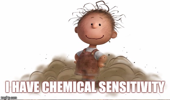 I HAVE CHEMICAL SENSITIVITY | made w/ Imgflip meme maker