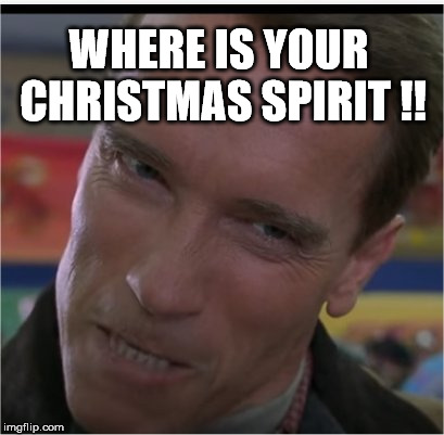 Where is your imgflip spirit? | WHERE IS YOUR CHRISTMAS SPIRIT !! | image tagged in weve,got,spirit,how,about,you | made w/ Imgflip meme maker