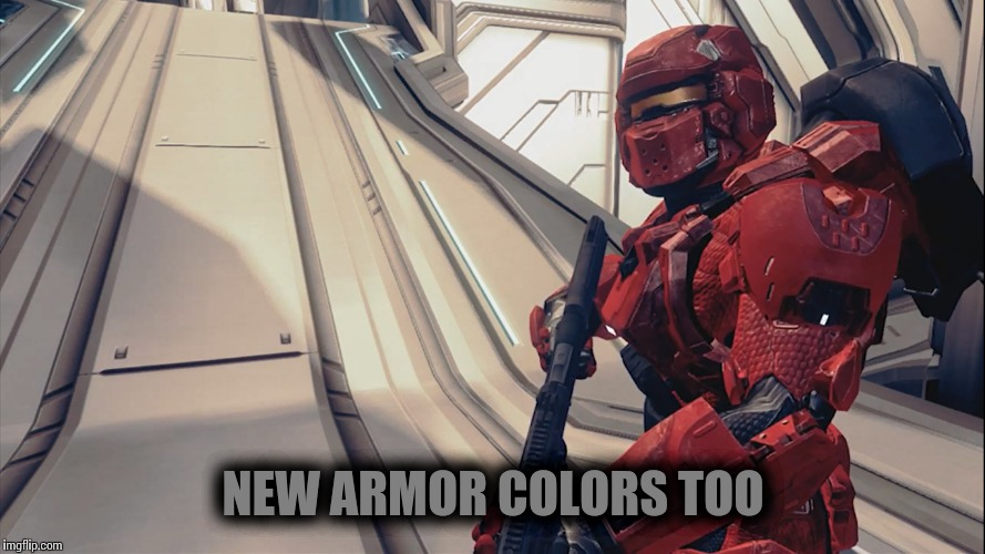 NEW ARMOR COLORS TOO | made w/ Imgflip meme maker