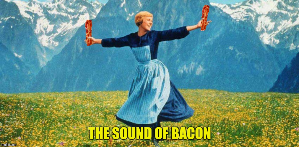 THE SOUND OF BACON | made w/ Imgflip meme maker