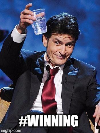 winning    #WINNING   image tagged in winning   made w/ Imgflip meme maker