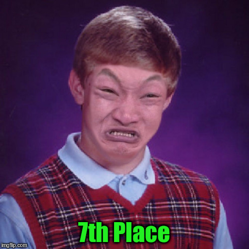 7th Place | made w/ Imgflip meme maker