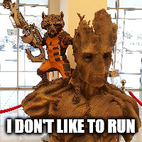 I DON'T LIKE TO RUN | made w/ Imgflip meme maker