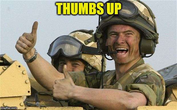 THUMBS UP | made w/ Imgflip meme maker