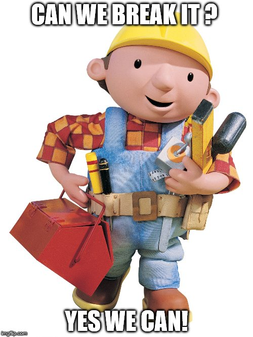 Image tagged in bob the builder - Imgflip