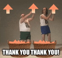 THANK YOU THANK YOU! | made w/ Imgflip meme maker