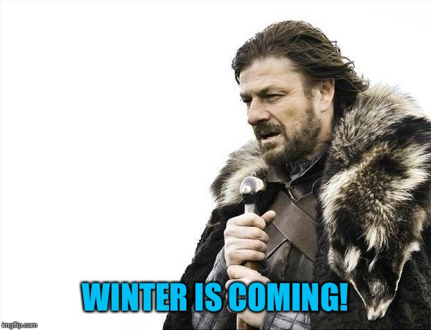 Brace Yourselves X is Coming Meme | WINTER IS COMING! | image tagged in memes,brace yourselves x is coming | made w/ Imgflip meme maker