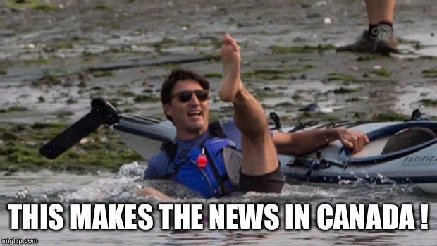 THIS MAKES THE NEWS IN CANADA ! | made w/ Imgflip meme maker
