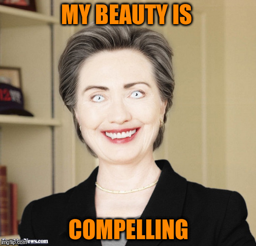 MY BEAUTY IS COMPELLING | made w/ Imgflip meme maker