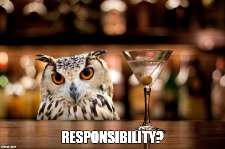 RESPONSIBILITY? | made w/ Imgflip meme maker