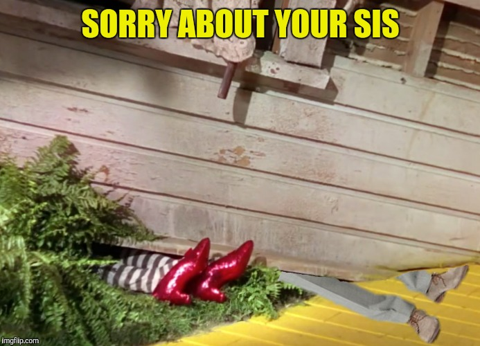 SORRY ABOUT YOUR SIS | made w/ Imgflip meme maker