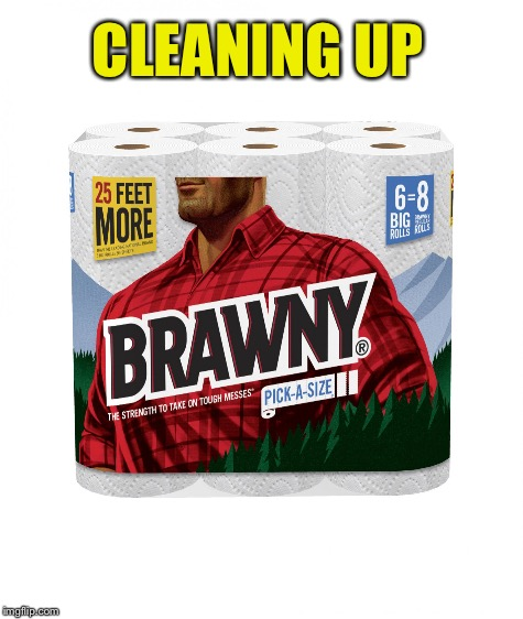 CLEANING UP | made w/ Imgflip meme maker