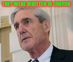 USA TODAY - Trump sent Mueller private notes | THEY WERE WRITTEN IN CRAYON | image tagged in meme,witch,hunt,fake news,media,trump | made w/ Imgflip meme maker