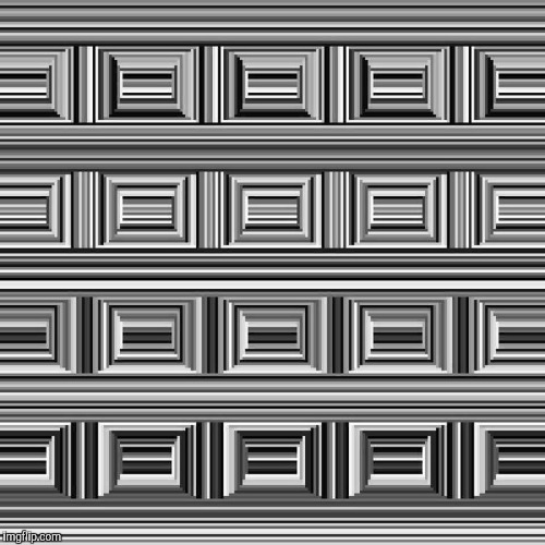 There are 16 circles in this image. Can you see them? | image tagged in mind blown | made w/ Imgflip meme maker