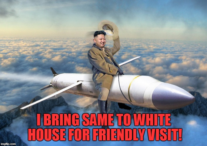 I BRING SAME TO WHITE HOUSE FOR FRIENDLY VISIT! | made w/ Imgflip meme maker