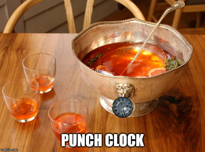 PUNCH CLOCK | made w/ Imgflip meme maker