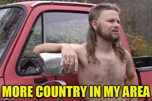 MORE COUNTRY IN MY AREA | made w/ Imgflip meme maker