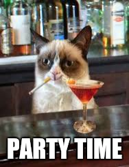 PARTY TIME | made w/ Imgflip meme maker