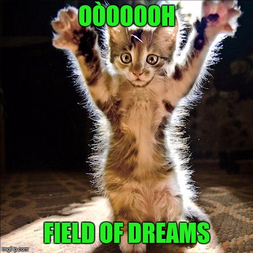 OÒOOOOH FIELD OF DREAMS | made w/ Imgflip meme maker