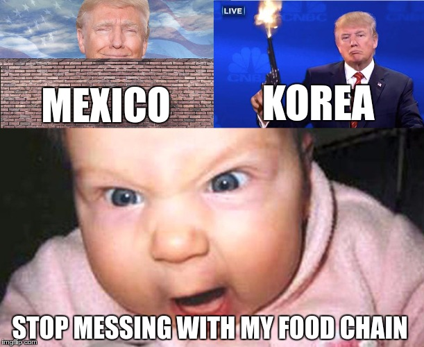 "What if it's about ""Trump vs Delivery Services"" 
