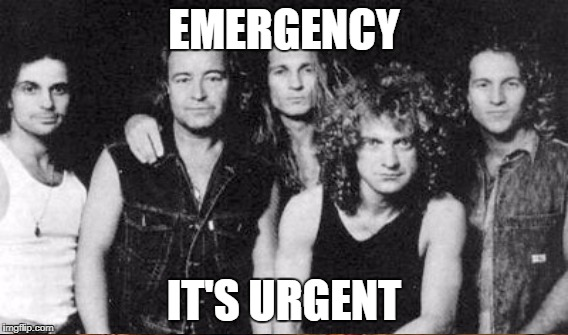 EMERGENCY IT'S URGENT | made w/ Imgflip meme maker