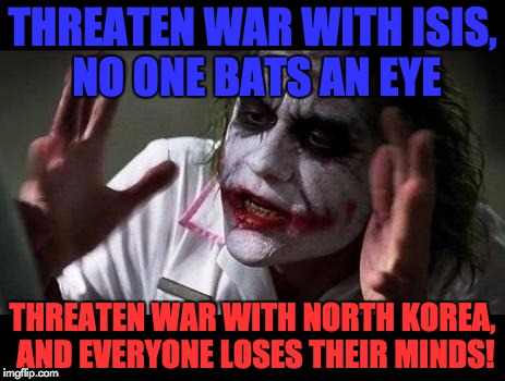 "Well, as the saying goes, ""You can't make everyone happy"" 