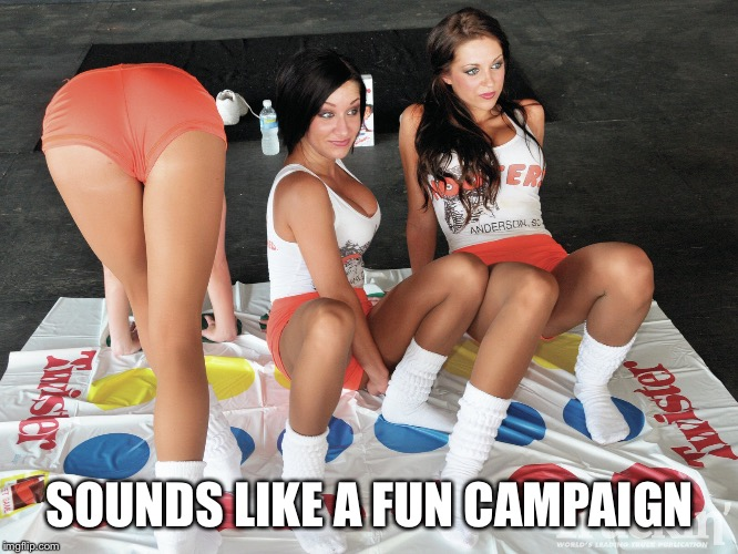 SOUNDS LIKE A FUN CAMPAIGN | made w/ Imgflip meme maker
