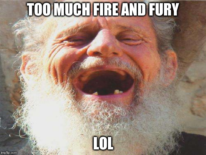 TOO MUCH FIRE AND FURY LOL | made w/ Imgflip meme maker