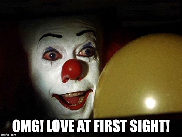 OMG! LOVE AT FIRST SIGHT! | made w/ Imgflip meme maker