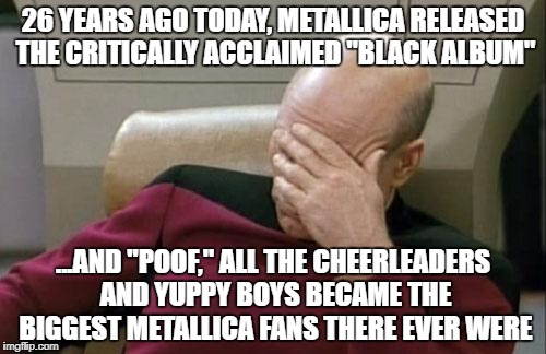 "26 year anniversary of ""The Black Album"" 
