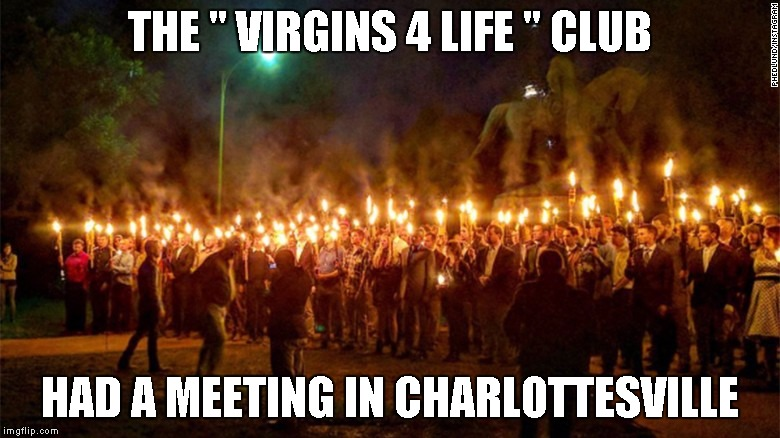 "THE "" VIRGINS 4 LIFE "" CLUB HAD A MEETING IN CHARLOTTESVILLE 