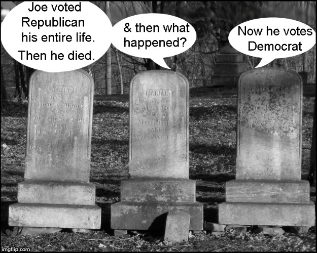 The dead vote- in Chicago | image tagged in election fraud,current events,funny,funny memes,democrats,politics lol | made w/ Imgflip meme maker