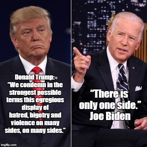 """Joe Biden Schools Devious Donald"" 