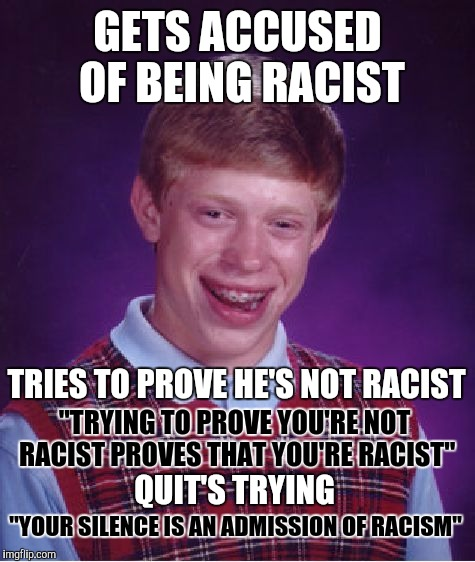 you're racist memes