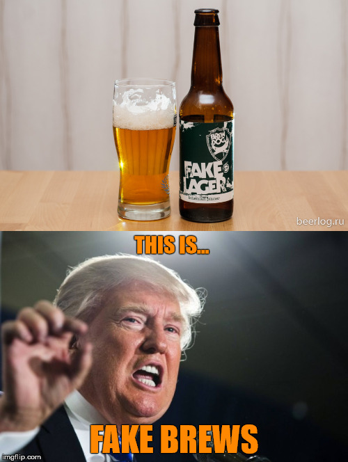 """I'm telling you folks..."" 