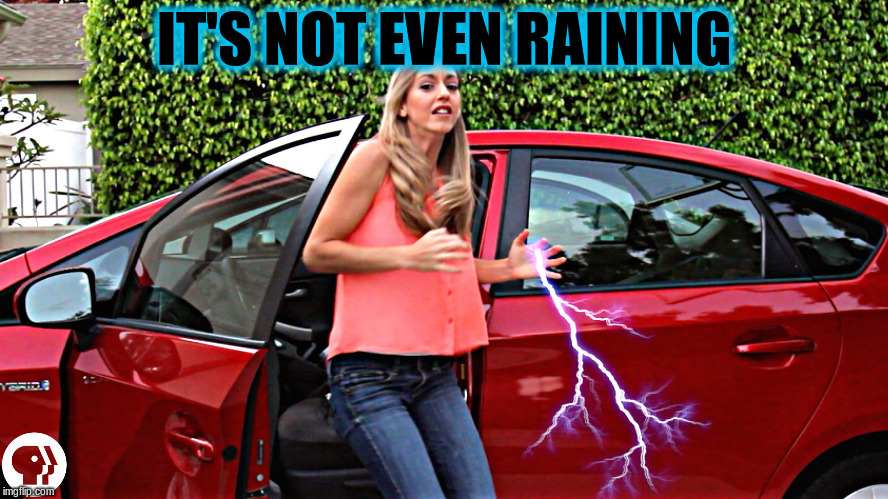 IT'S NOT EVEN RAINING | made w/ Imgflip meme maker