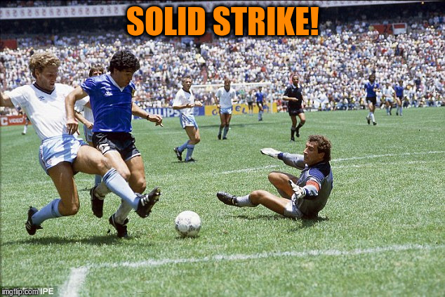 SOLID STRIKE! | made w/ Imgflip meme maker