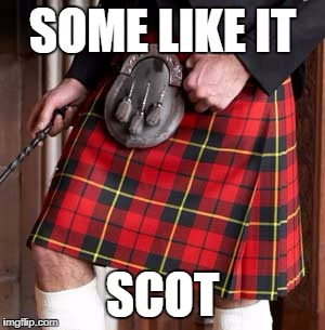 Kilt | SOME LIKE IT SCOT | image tagged in kilt | made w/ Imgflip meme maker